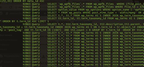 Логи в MySQL